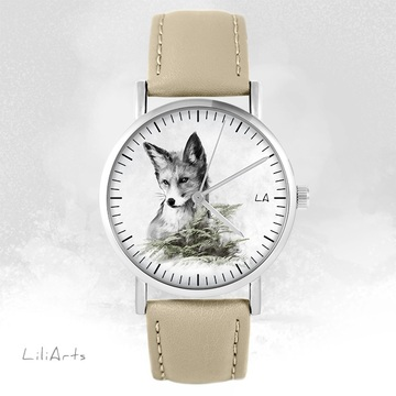 Watch LiliArts - Lis - Into The Wild - beige, leather
