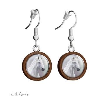 Wooden earrings LiliArts -...
