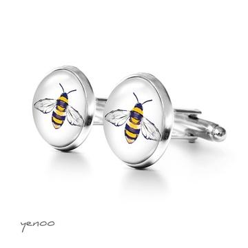 Yenoo cufflinks - Bee