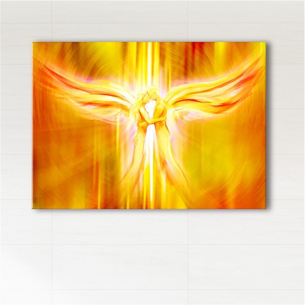 Obraz - Anioły Miłości  - wydruk na płótnie