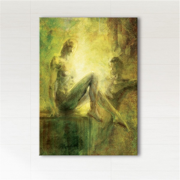 Painting - Proximity - print on canvas