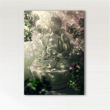 Picture - Buddha - print on canvas