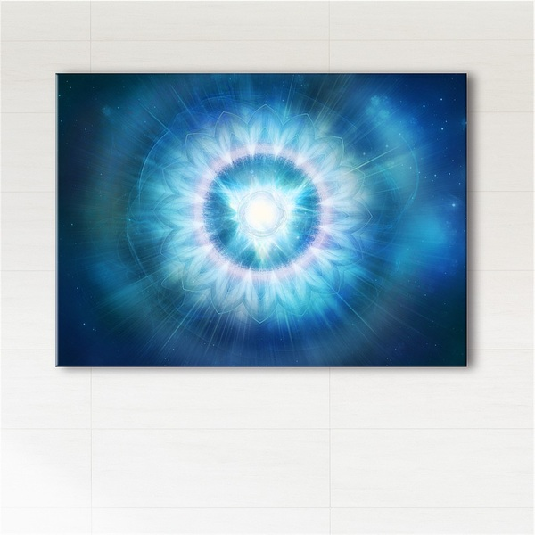 Picture - Throat chakra - print on canvas