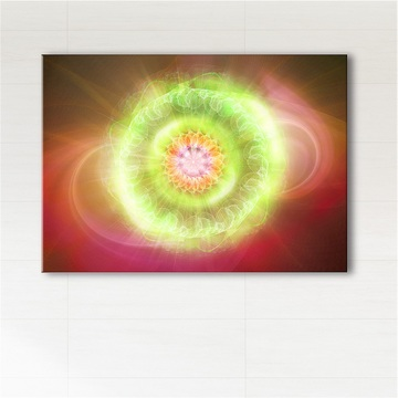 Picture - Heart chakra - print on canvas