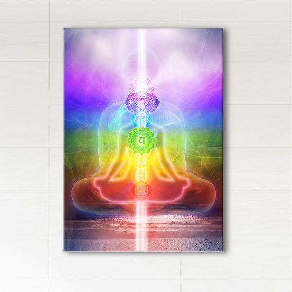 Painting - Harmony of the chakras - print on canvas