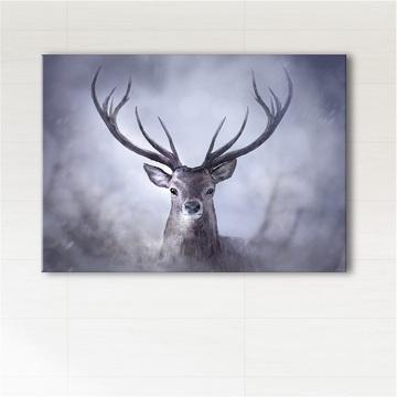 Painting - Scandinavian deer - print on canvas