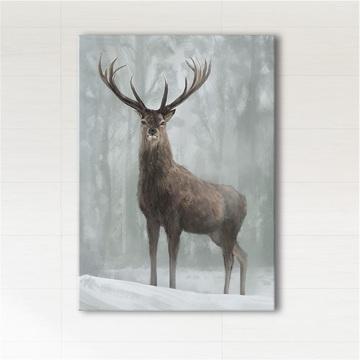 Painting - Scandinavian deer 3 - print on canvas