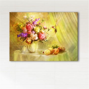 Painting - Summer breeze - print on canvas