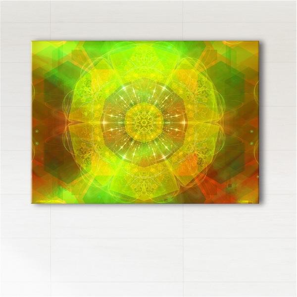Painting - Mandala of a good mood - print on canvas