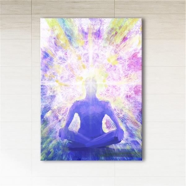 Obraz - Medytacja 2  - wydruk na płótnie
