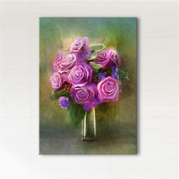 Painting - Roses - print on canvas