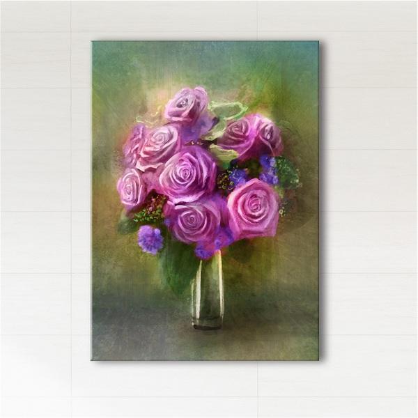Obraz - Róże  - wydruk na płótnie