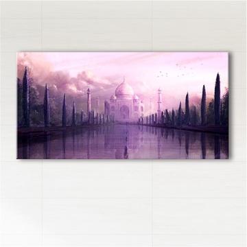 Picture - Taj Mahal - print on canvas