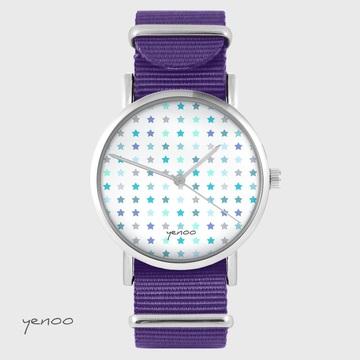 Yenoo watch - Blue Stars -...