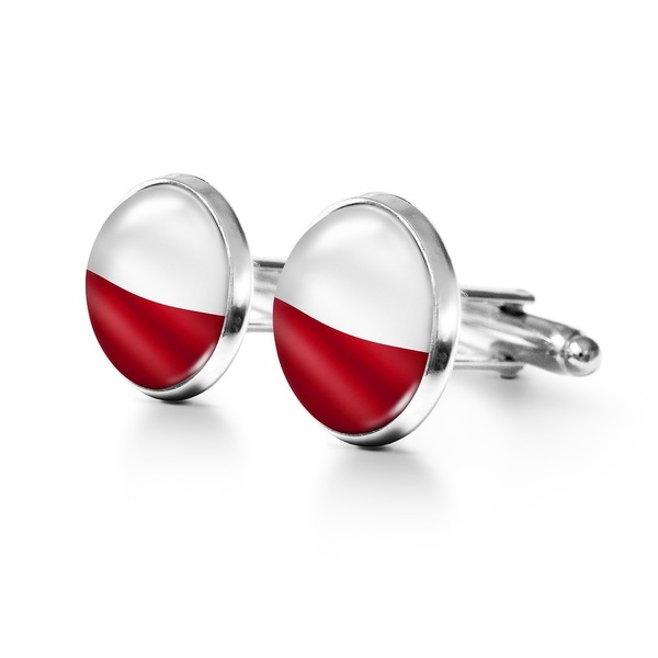 Yenoo Cufflinks - Polish Flag