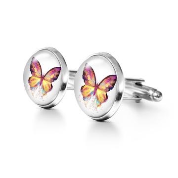 Yenoo Cufflinks - Butterfly