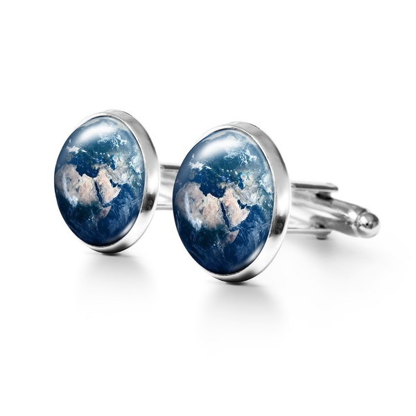 Yenoo Cufflinks - Earth