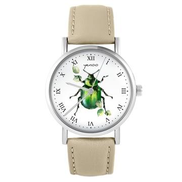 Yenoo watch - Green Bettle...