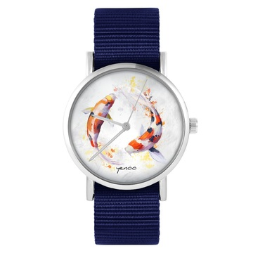 Yenoo watch - Koi Carps -...