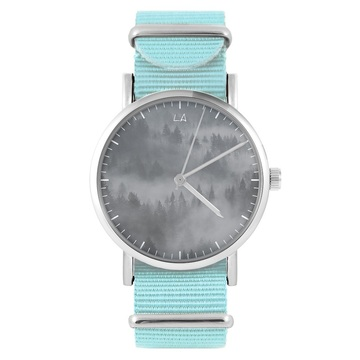 LiliArts watch - Into The Wild - blue, nylon
