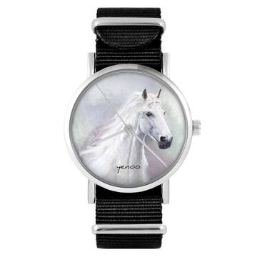 Watch - White horse, Black,...