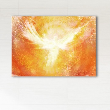 Painting - Angelic red...