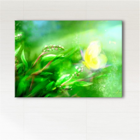 Painting - Energy of nature - print on canvas