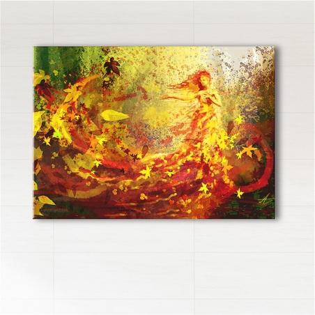 Painting - Autumn - print on canvas