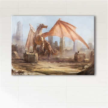Painting - Dragon - print...