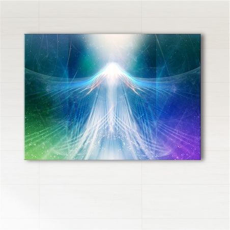 Painting - Release - print on canvas