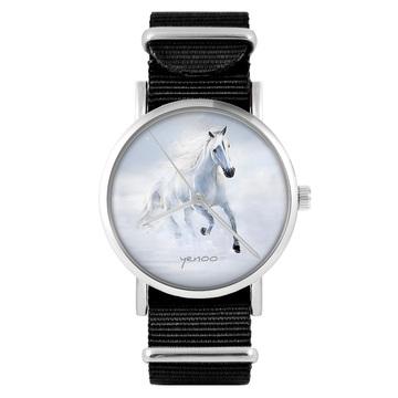 Zegarek - Biały koń...