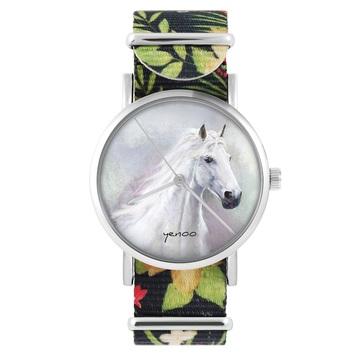 Zegarek yenoo - Biały koń -...