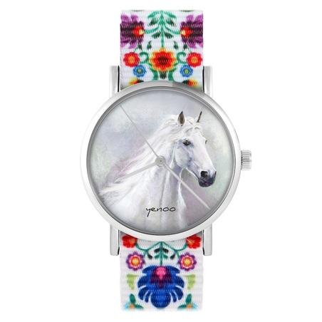 yenoo watch - White horse - folk, nylon