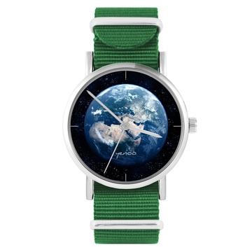 Yenoo Watch - Earth - Green, Nylon
