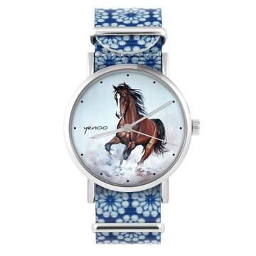 Yenoo watch - Brown horse -...