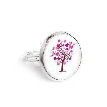 Yenoo ring 18mm - Tree of love