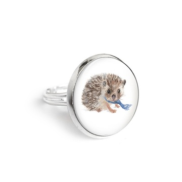 Yenoo ring 18mm - Hedgehog