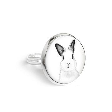 Yenoo ring 18mm - Rabbit