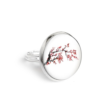 Yenoo ring 18mm - Cherry blossom