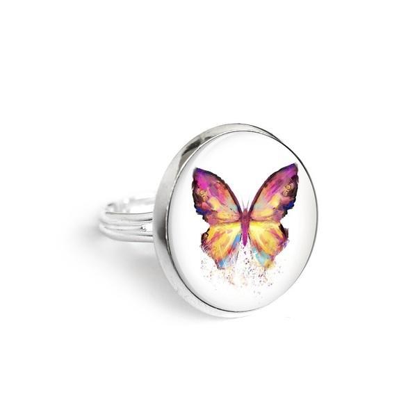 Yenoo ring 18mm - Butterfly