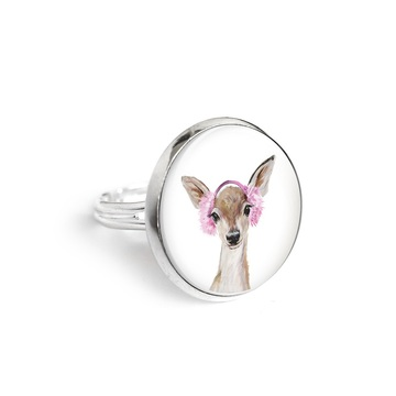 Yenoo ring 18mm - Roe-deer