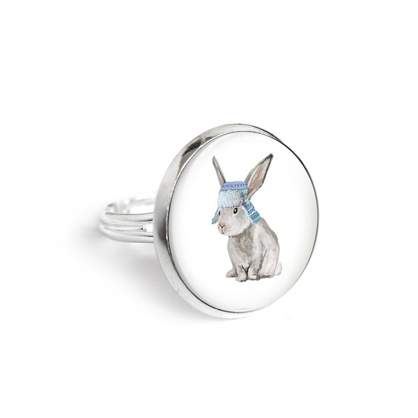 Yenoo ring 18mm - Hare