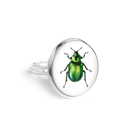 Yenoo ring 18mm - Beetle