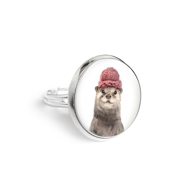 Yenoo ring 18mm - Otter