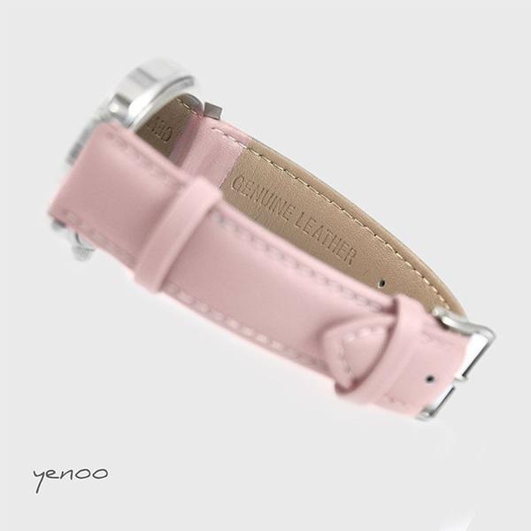 Fashion watch, Bracelet - Flamingos - powder pink