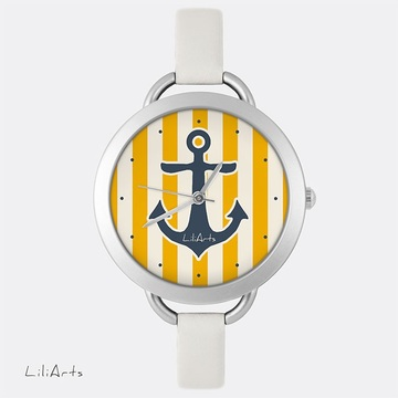 Watch - Yellow anchor -...