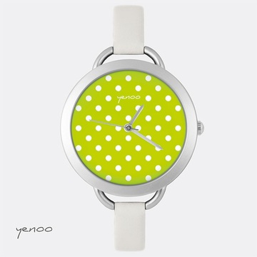 Watch, Dots - Green