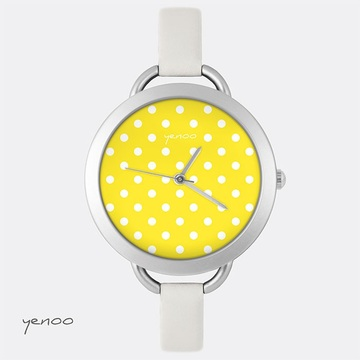Watch, Dots - Yellow
