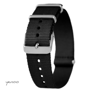 Watch strap - nato, black