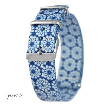 Watch strap - nato, blue,...